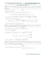 110 bài hình học phẳng có lời giải chi tiết