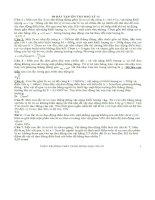 50 câu trắc nghiệm lý cực khó