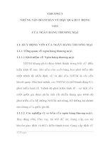 PHÂN TÍCH TèM HIỂU CÁC NHÂN TỐ ẢNH HƯỞNG ĐẾN KHẢ NĂNG HIỆU QUẢ HUY ĐỘNG VỐN CỦA NGÂN HÀNG CÔNG THƯƠNG VIỆT NAM CHI NHÁNH HOÀN KIẾM