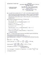 Giải toán Hóa học trên VinaCal và Casio