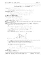 Giáo án môn toán lớp 5 tuần 18