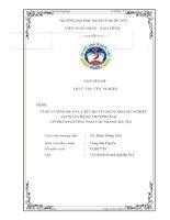 Chuyên đề tốt nghiệp - Tăng cường quản lý rủi ro tín dụng doanh nghiệp tại ngân hàng thương mại cổ phần Phương Nam chi nhánh Hà Nội