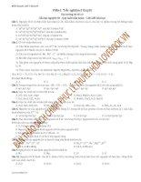 Tổng ôn tập lý thuyết hóa học dùng cho kì thi quốc gia có giải chi tiết