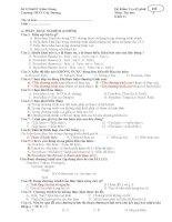 Đề kiểm tra 1 tiết tin học 11 HK2 ĐỀ 3