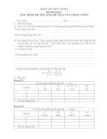 Bài40 thực hành: XÁC ĐỊNH HỆ SỐ CĂNG BỀ MẶT CỦA CHẤT LỎNG