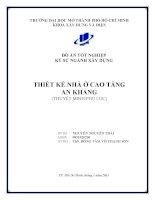 Đồ án tốt nghiệp kỹ sư xây dựng Thiết kế nhà ở cao tầng An Khang ( Nguyễn Nguyên Thái)
