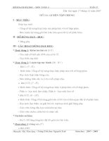 Giáo án môn toán lớp 5 tuần 17