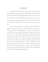 Tiểu luận Nội dung, ý nghĩa của việc TUYỂN CHỌN VÀ BỐ TRÍ SỬ DỤNG NGƯỜI, THỰC TẾ TRONG CÁC DOANH NGHIỆP