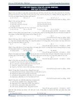 Bài tập lý thuyết trọng tâm về ancol phenol