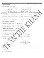 Đề cương ôn tập toán lớp 4