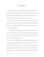 PHÂN TÍCH ĐÁNH GIÁ TÌNH HÌNH VÀ ĐỀ XUẤT GIẢI PHÁP NÂNG CAO HIỆU QUẢ ĐẤU THẦU Ở TRONG XÂY DỰNG CƠ BẢN