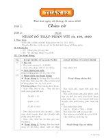 GIÁO ÁN CÁC MÔN LỚP 5 TUẦN 12