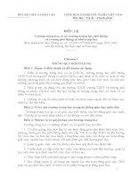 Điều lệ trường trung học ( bản chình thức ) Ban hành kèm theo Thông tư  số: 12/2011/TT-BGDĐT ngày 28/3 /2011