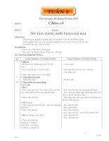 GIÁO ÁN CÁC MÔN LỚP 5 TUẦN 5