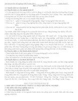 Tài liệu ôn thi TN THPT 2011-Môn Địa lí -P2