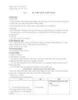 Giáo án vật lý lớp 7  3 cột học kỳ 1
