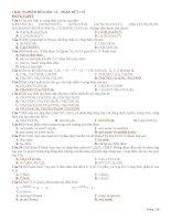 TRAC NGHIEM 12 ON THI TNTHPT CUC HAY