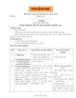 GIÁO ÁN CÁC MÔN LỚP 5 TUẦN 17