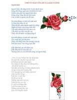 Các bài thơ hay đọc