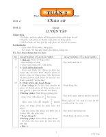 GIÁO ÁN CÁC MÔN LỚP 5 TUẦN 2