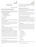 Bài giảng môn Lý thuyết tài chính tiền tệ  chương 1