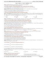 tổng hợp các câu lý thuyết được phân dạng theo từng chuyên đề của môn vậy lý