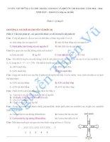 TUYỂN tập NHỮNG câu hỏi TRỌNG tâm HAY và KHÓ ôn THI đại học năm 2014 môn SINH học khối b (có đáp án chi tiết)