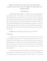 ĐIỂM LẠI TÌNH HÌNH MUA BÁN VÀ SÁP NHẬP NGÂN HÀNG THƯƠNG MẠI TẠI VIỆT NAM VÀ TÁC ĐỘNG CỦA HOẠT ĐỘNG NÀY TỚI NỀN KINH TẾ