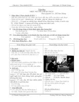 Giáo án lớp 4 theo chuẩn KTKN