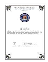 Tìm hiểu về mặt hàng kinh doanh, phương thức kinh doanh, phương thức thanh toán và trình bày các bước tự xây dựng cấu hình máy tính của Trần Anh