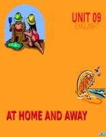 Unit 9:At home and away