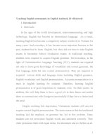 SKKN dạy phụ âm tiếng anh trong sách giáo khoa tiếng anh 10 có hiệu quả (teaching english consonants in english textbook 10 effectively)