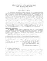 Đề cương ôn tập HKII-2010-2011 môn ANH 11