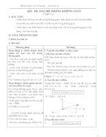 Hình học cơ bản lớp 2_Chương 3_ Phương pháp tọa độ trong không gian