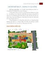 Chuyên đề nhà ở  chung cư cao tầng
