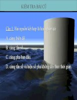 Bài giảng Vật Lý  12. Bài 9. Sóng dừng..