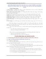 Tóm tắt cách giải Bài tập Sinh học 12