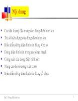 Bài giảng Vật Lý  12. Bài 12 Động cơ điên xoay chiều