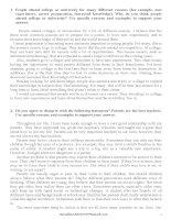 100 bài luận luyện thi THPT QG