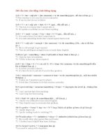160 cấu trúc câu tiếng Anh thông dụng