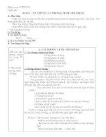 Giáo án phụ đạo học sinh yếu ngữ văn 9