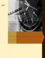 SLIDE đàm phán và ký kết hợp đồng kinh tế kinh doanh quốc tế Chương 5 - Phần 2 So sánh Văn hóa Phương đông và Phương tây