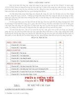 Tài liệu ôn thi cấp tốc môn ngữ văn vào 10 (Hay)