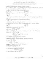 Các chuyên đề toán lớp 9 ôn thi vào lớp 10 (hay)
