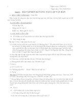 Giáo án dạy thêm văn 7