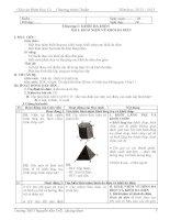 GIÁO ÁN HÌNH HỌC 12 (cơ bản)_HK1