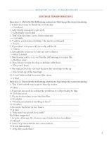 Bài Tập Viết Lại CâuCô Mai Phương (có đáp án)