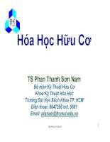 Bài giảng hóa hữu cơ:   chương 9   các dẫn xuất halogen