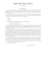 Học tốt ngữ văn 9 tập 1