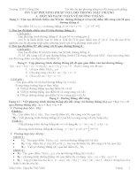 Phương pháp giải các dang toán về hình học phảng